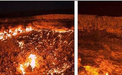 地狱之门在哪个国家,久是燃烧了43年的23 / 作者:伤我心太深 / 帖子ID:54306