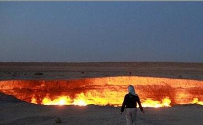 地狱之门在哪个国家,久是燃烧了43年的25 / 作者:伤我心太深 / 帖子ID:54306